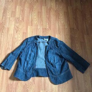 Light Denim jacket plus size